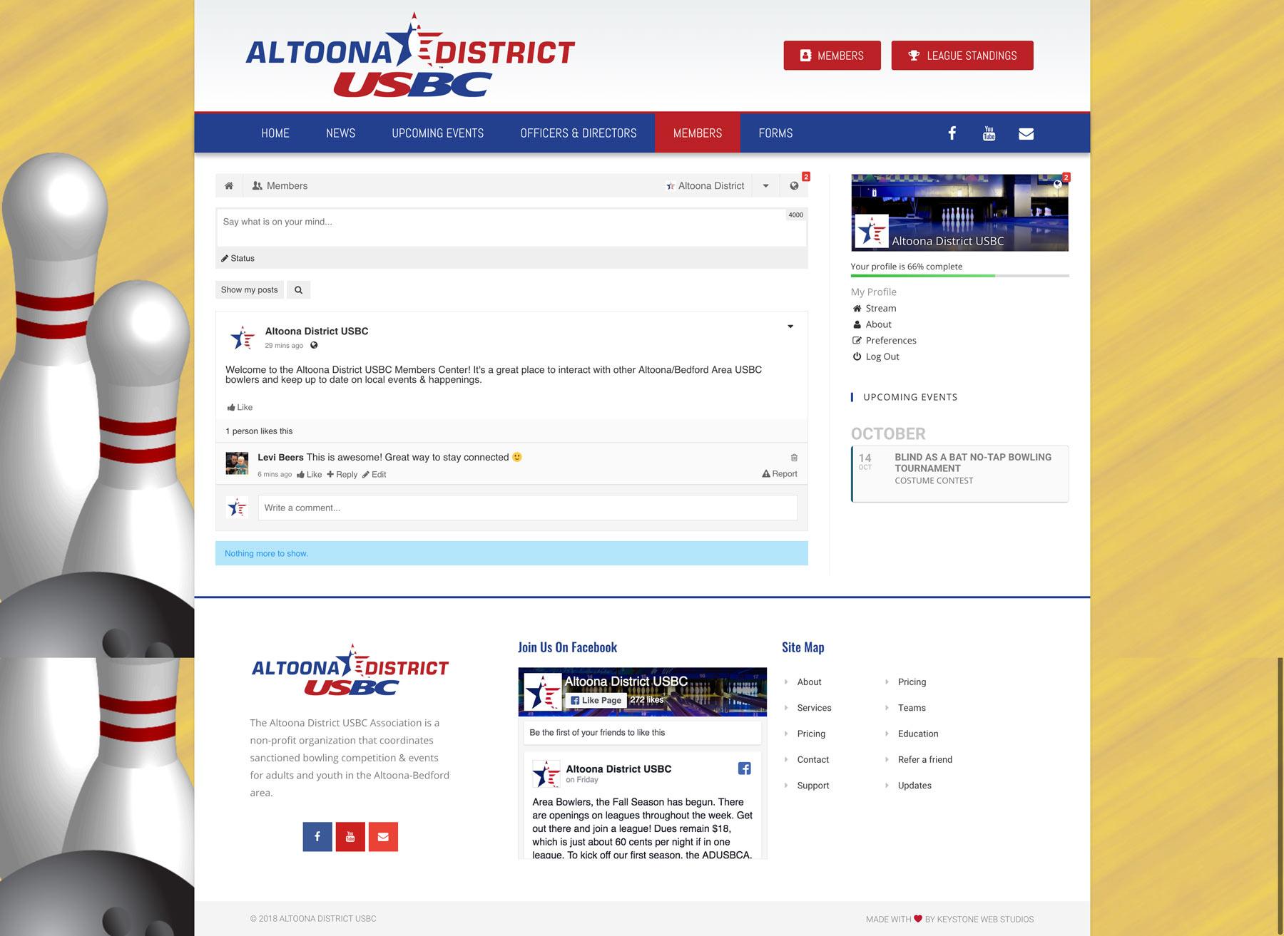 New Website & Member Center
